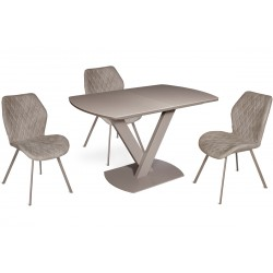 Стол FAUST 120(+40)x80