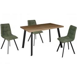 Стол HAGEN 120(+40)x80