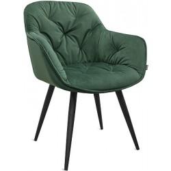 Кресло MONE черный металл/...