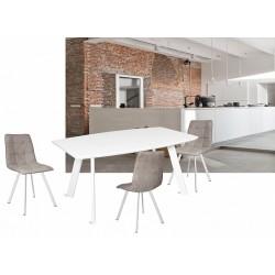 Стол SWAN 160(+45)x90 белый...